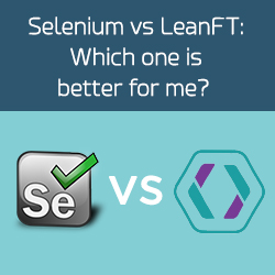 Selenium and LeanFT, selenium vs leanft, test automation, leanft, selenium, selenium webdriver, selenium testng, hp leanft, hp lean functional testing, selenium grid, software testing, quality assurance, software quality, leanft vs selenium, gallop solutions